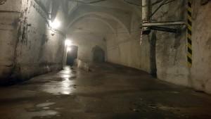 kőbányai pincerendszer folyosói látvány