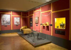 Pompei kiállítás szeged, Kliné ebédlőből