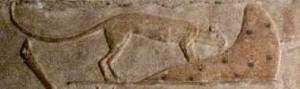 ugróegér oduja előtt Szakkara, Ptahhotep masztabája (forrás: http://www.osirisnet.net/mastabas/akhethtp_ptahhtp/e_akht_ptah_03.htm ) http://www.osirisnet.net/mastabas/akhethtp_ptahhtp/e_akht_ptah_03.htm