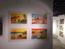 Magyar gyermekrajzok Kairóban