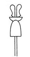 8. felső-egyiptomi monosz jelvénye (Lexikon der Ägyptologie II. 423)
